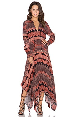 SAM&LAVI Christel Maxi Dress in Tarifa