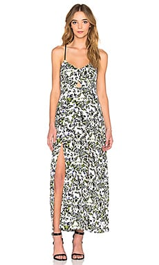 LAVI by SAM&LAVI Jasmine Maxi Dress in Lilac Floral