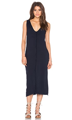 SAM&LAVI Alice Maxi Dress in Navy