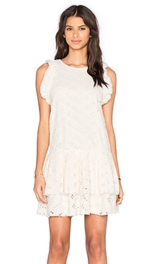 SAM&LAVI Desiree Dress in Vanilla Eyelet