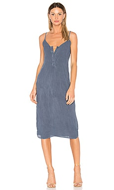 Tabitha Dress in Dark Blue Denim