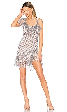 Karlie Dress in Daisy Dots