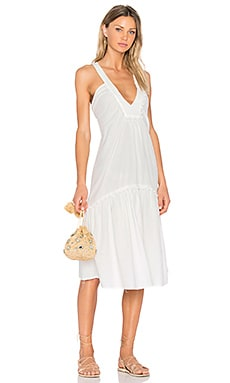 Beca Dress in White