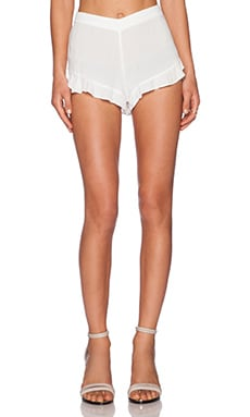 LAVI by SAM&LAVI Callie Shorts in White