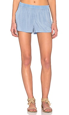 LAVI by SAM&LAVI Thea Short in Chambray