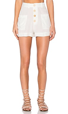 LAVI by SAM&LAVI Austen Short in White Brady