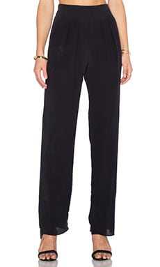 SAM&LAVI Daniella Pant in Black