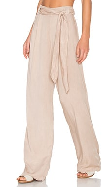 Blossom Pant en Tan Boston Twill