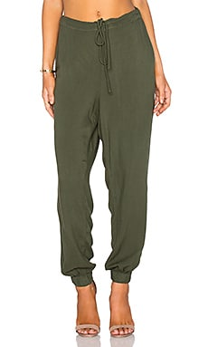 Jayna Pant in Dark Forest Boston Twill