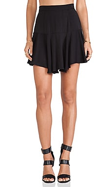 SAM&LAVI Elle Skirt in Black