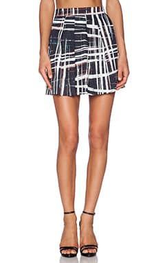 SAM&LAVI Natasha Skirt in Alta Plaid