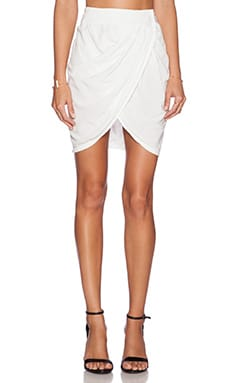 LAVI by SAM&LAVI Paige Skirt in White