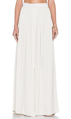 SAM&LAVI Portesa Maxi Skirt in Tan