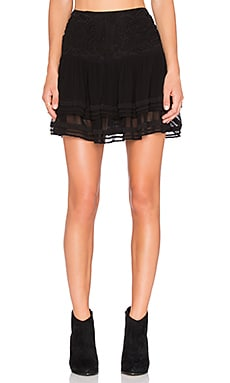 SAM&LAVI Nanette Skirt in Black