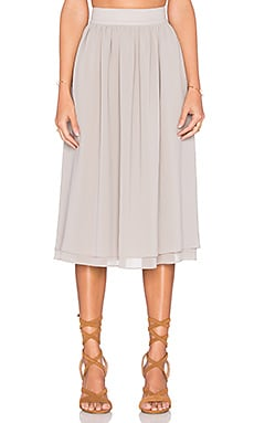 SAM&LAVI Brooke Skirt in Taupe