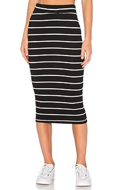 LAVI by SAM&LAVI Naty Skirt in Solange Stripe