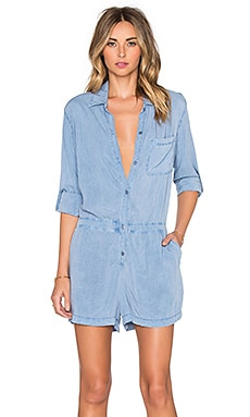 LAVI by SAM&LAVI Maisie Romper in Chambray
