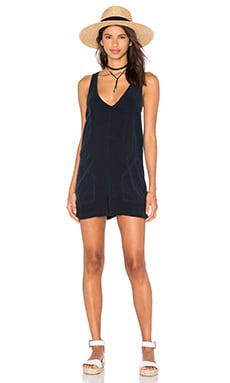 LAVI by SAM&LAVI Emilia Romper in Navy