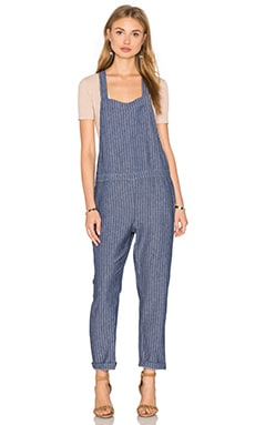 LAVI by SAM&LAVI Roxy Overall in El Paso Denim Stripe