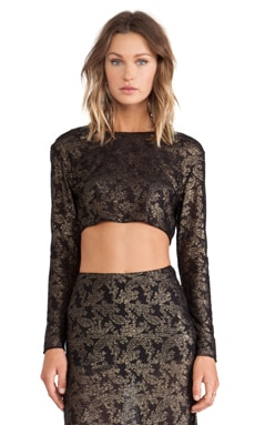 SAM&LAVI Emilee Top in Gilda Lace