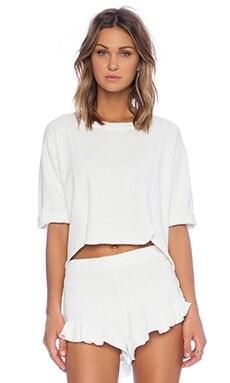 SAM&LAVI Noelle Top in White