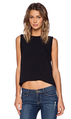 SAM&LAVI Madisyn Top in Black