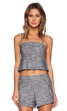 SAM&LAVI Daisi Tank in Heather Chambray