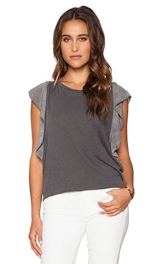LAVI by SAM&LAVI Quinn Top in Charcoal