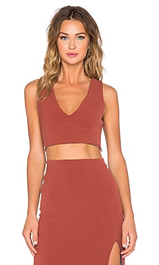 SAM&LAVI Pheobe Crop Top in Arabian Spice