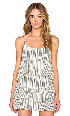 SAM&LAVI Noella Top in Bone Alex Stripe