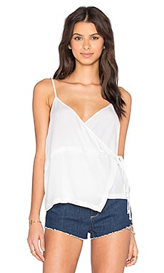 Tally Top in White Brady
