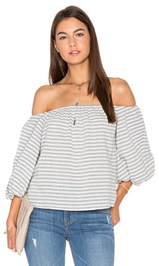 Florence Top in Cafe Stripe