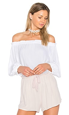 Cecile Top in White