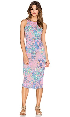 SAM&LAVI Sleeveless Maxi Dress in Petunia