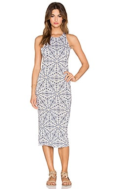 SAM&LAVI Sleeveless Maxi Dress in Daisy Mea