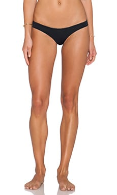 SAN LORENZO Caged Thong Bikini Bottom in Midnight