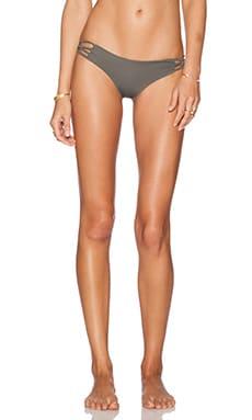 SAN LORENZO Reversible Bikini Bottom in Olive