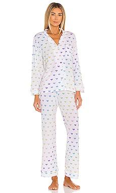 Pajama Set Stripe & Stare $140 NEW
