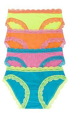 Neon Candy Box Stripe & Stare $60
