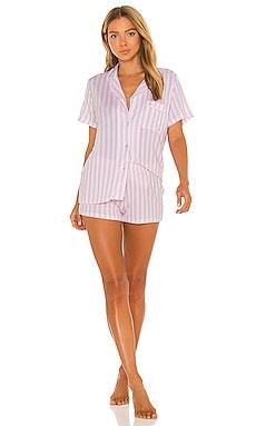 Bedshort Set Stripe & Stare $69