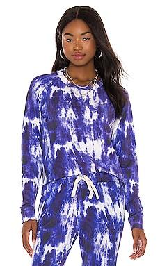 Ink Tie Dye Sweatshirt Stripe & Stare $21 (FINAL SALE)