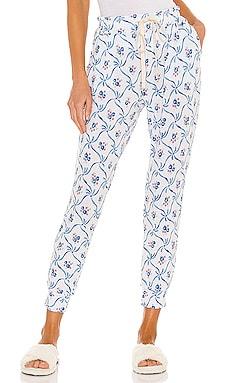 x LoveShackFancy Tea Party Lounge Pant Stripe & Stare $80