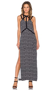 Sass & Bide Rains Rumor Maxi Dress in Print