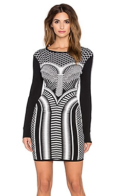 Sass & Bide A Thousand Sacraments Dress in Black & White