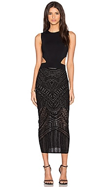 Sass & Bide The Glass Wings Dress in Black