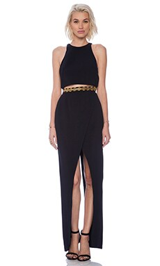 Sass & Bide The New Establishment Dress in Black Embellishment