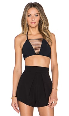 Sass & Bide Sky's Locket Bra in Black