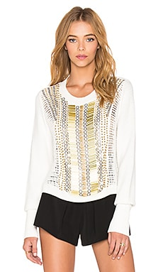 Sass & Bide Army of Alpinists Sweater in White