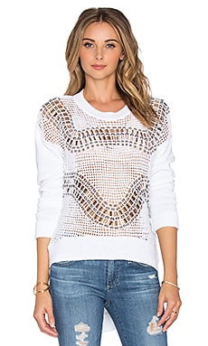 Sass & Bide Hakuba Counting Sweater in White
