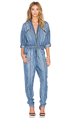 Sass & Bide Photopop Jumpsuit in Denim